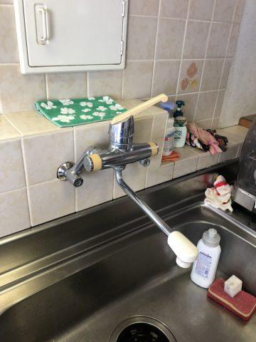 水栓金具取替