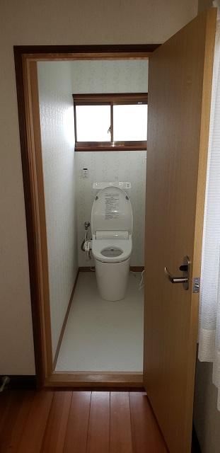 赤穂郡上郡町 トイレ取替他工事