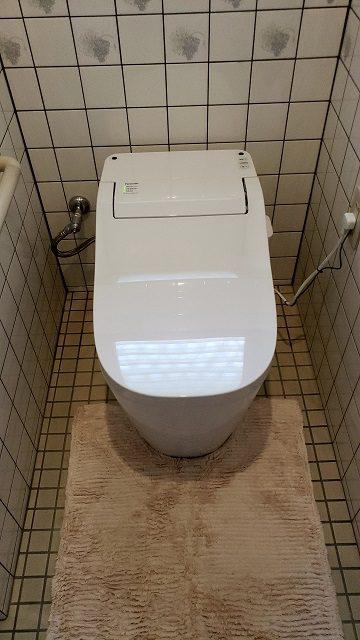 相生市 1階・2階のトイレを取替