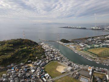 姫路市木場上空写真