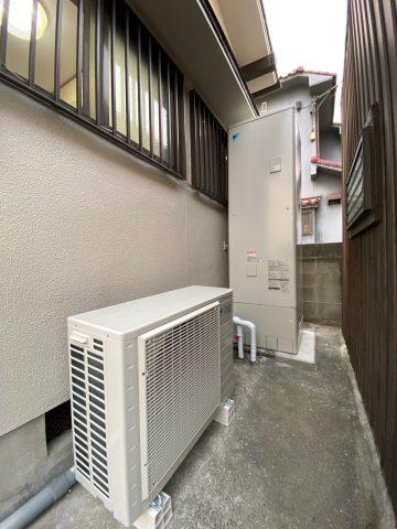 姫路市 ガス給湯器からエコキュートへ取替えました!