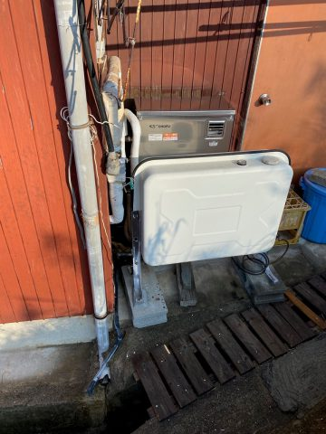 姫路市 石油給湯器取り替え工事