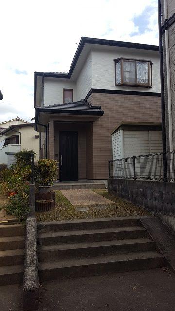 相生市で外壁塗装工事完工