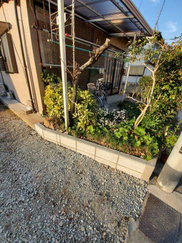 姫路市 花壇改修工事