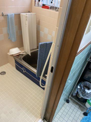 たつの市 浴室、脱衣場工事