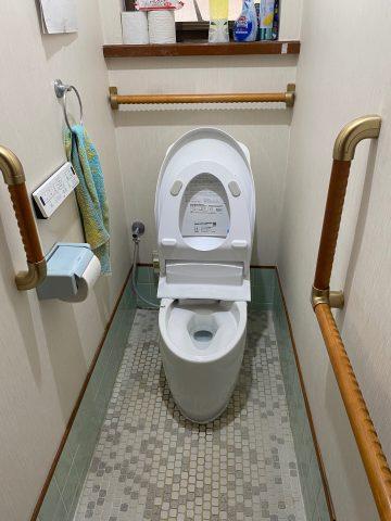 赤穂郡上郡町 トイレ交換工事