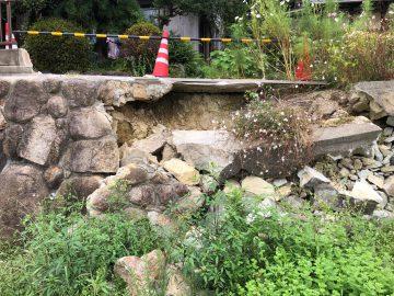 石垣の修復 姫路