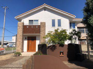 姫路市で外壁塗装完工のお家