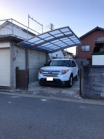 姫路市 カーポート交換工事