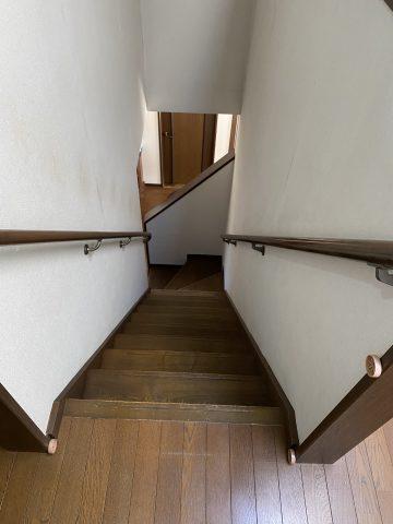 たつの市 階段手すり取付