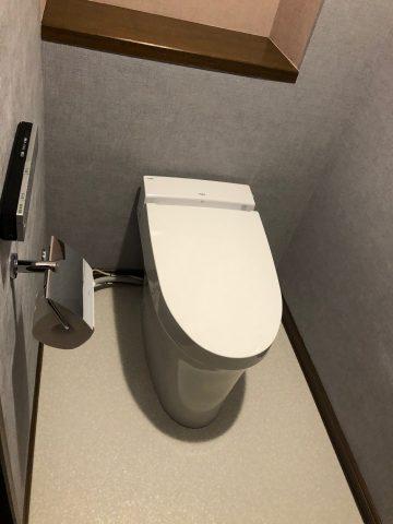 姫路市 LIXILサティスS(最小トイレ)リフォーム
