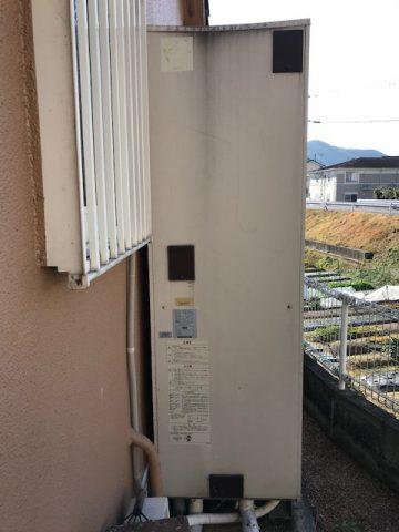 日立2002年製電気温水器エラー01