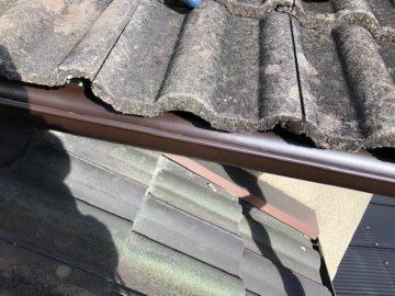 雨漏りの原因の箇所を修繕完工