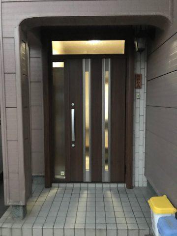 高砂市 玄関ドアの入れ替え