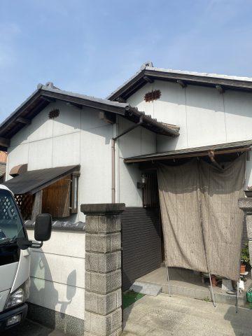 姫路市で外壁塗装施工前