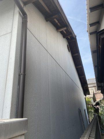 姫路市で外壁塗装する前の家の壁