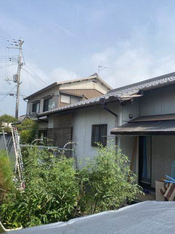 姫路市外壁塗装施工前