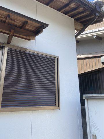 日本ペイントパーフェクトトップで塗装済みの家