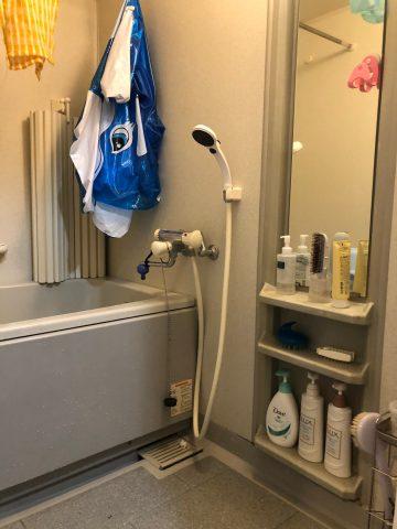 シャワー水栓取替