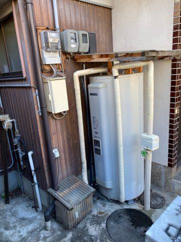 電気温水器②