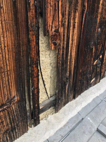 姫路市 焼板の張り替え