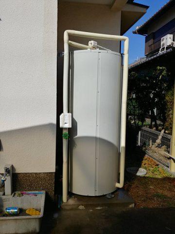 赤穂市 電気温水器給湯配管修理