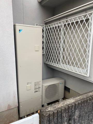 たつの市 電気温水器からエコキュート