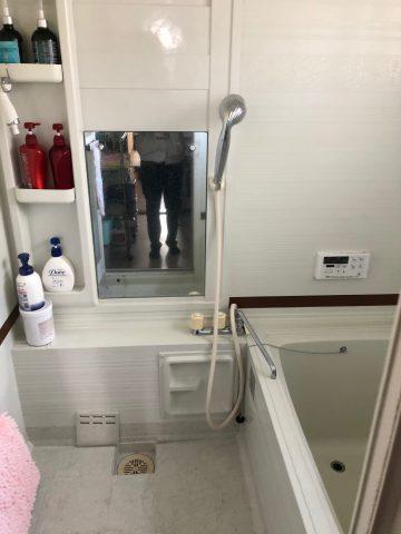 シャワー水栓 工事