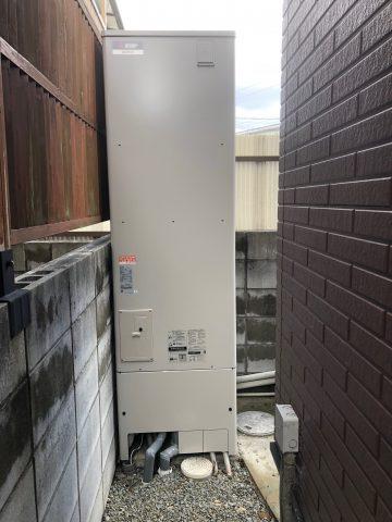 姫路市 電機温水器からエコキュート交換工事