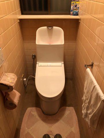 姫路市 トイレ交換