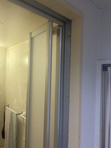 姫路市 マンション浴室ドア工事