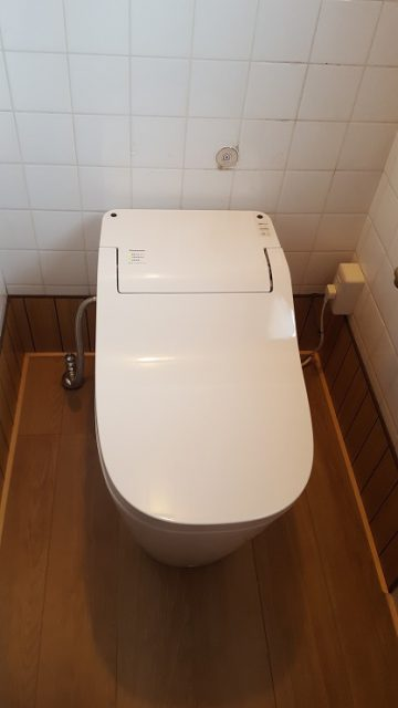 赤穂市 和式から洋式トイレへ!