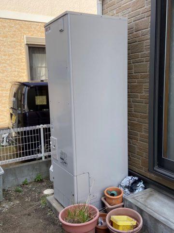 姫路市 電気温水器から大きな音がする