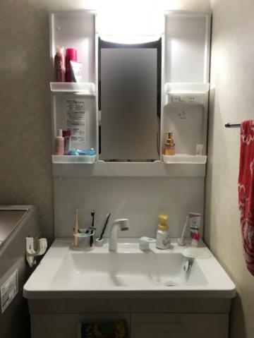 姫路市 シャワーがとれた洗面台