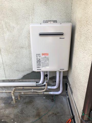 ガス給湯器 都市ガス 交換