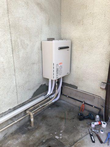 姫路市 ガス給湯器の交換