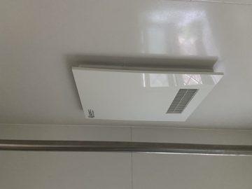 たつの市 浴室換気乾燥暖房機の交換