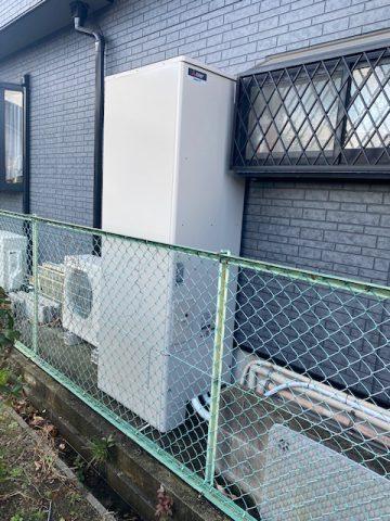 姫路市 エコキュート工事