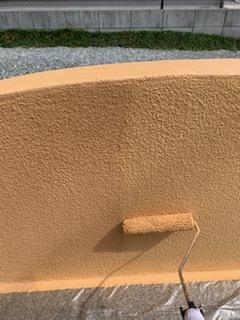 姫路市 ブロック塀塗装