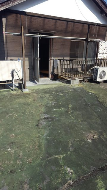 雨漏り対策で防水工事