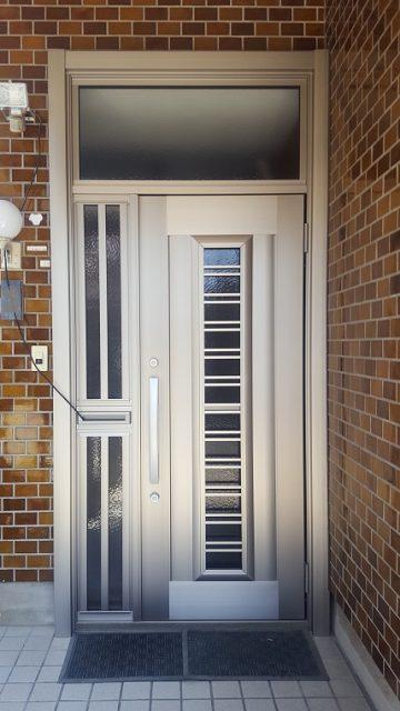相生市 玄関ドアの取替