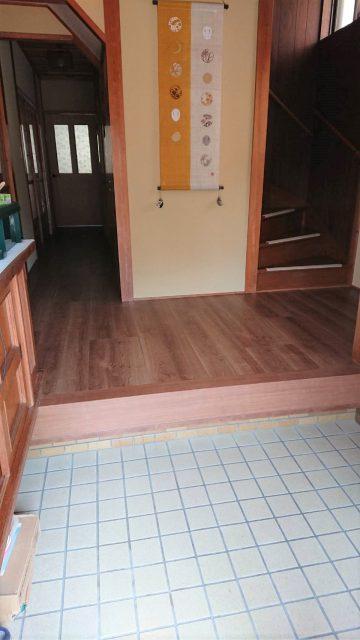 赤穂市 玄関・廊下の床を丈夫で綺麗に!