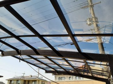 姫路市 カーポート屋根修繕工事