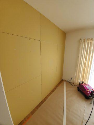 姫路市 子供部屋間の仕切壁