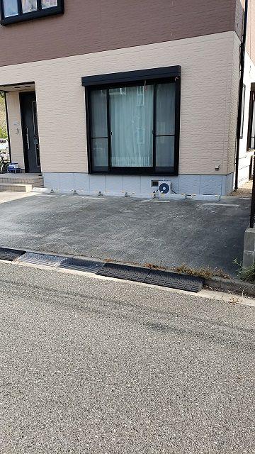 赤穂市 どこにでも駐車できるパーキングブロック