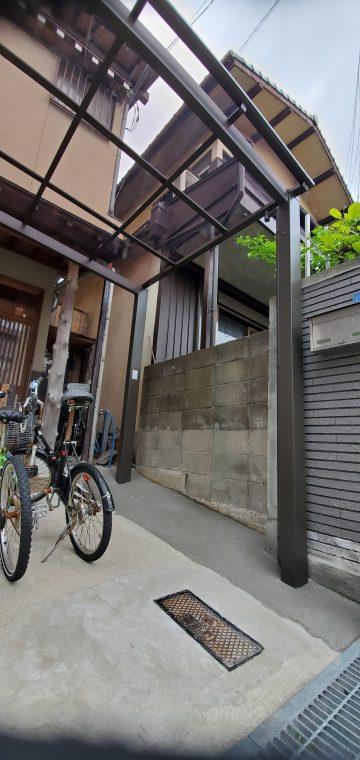 姫路市 サイクルポート新設工事