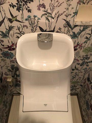 リクシルプレアスHSの手洗い部分