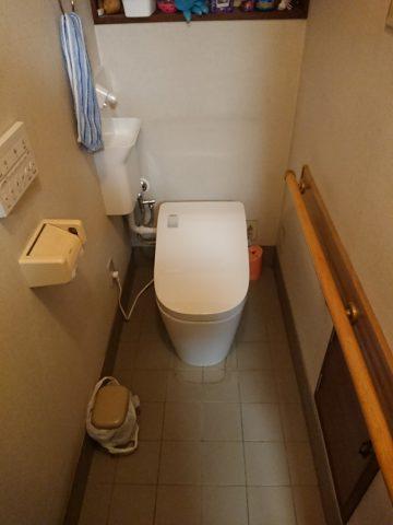 姫路市アラウーノL150へトイレ取替工事