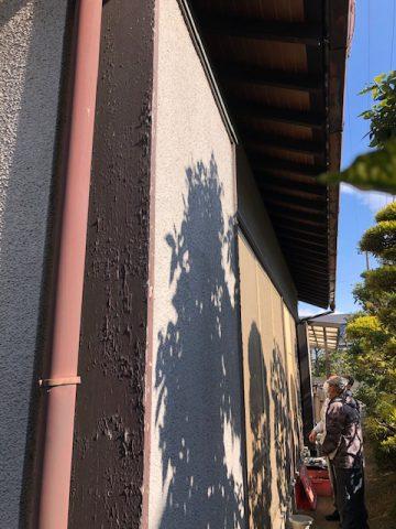 木製の戸袋 交換 姫路