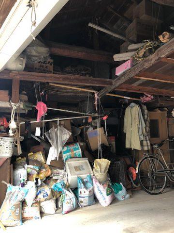 車庫改修工事